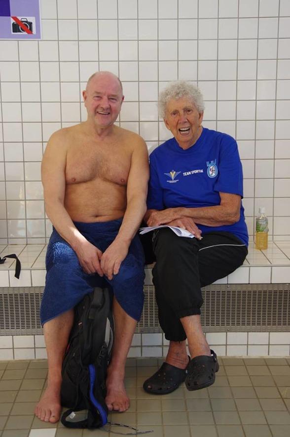 Rutinerat folk. Bosse Ljungren Hellas och Barbro Thörnlöf, Örebro