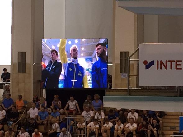 Jesper Tolvers blir presenterad inför finalen