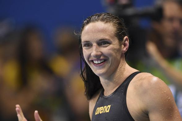 Katinka Husszu vann sitt andra guld på OS genom segern på 100m ryggsim