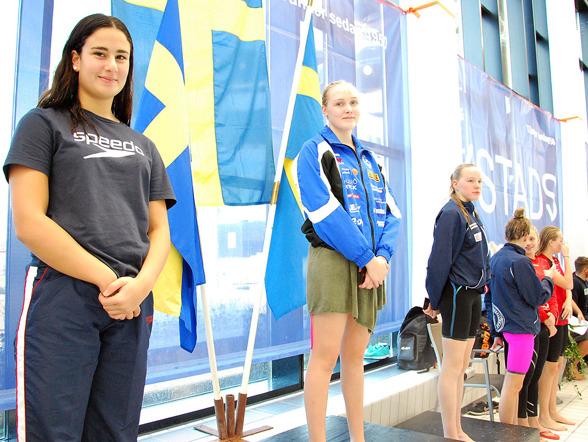 Ystad - prispallen bestod av  Olivia Ülger, Lina Sjöholm, Ebba Hallbäck, Alicia Lundblad, Filippa Sundström, Simone Karlsson
