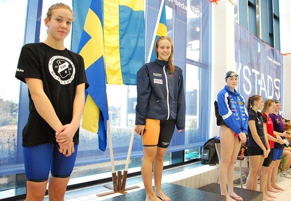 Ystad - prispallen i denna grenen bestod av Isabella Revstedt, Julia Stenhård, Lina Sjöholm, Sofie Karlsson, Simone Karlsson, Klara Johansson