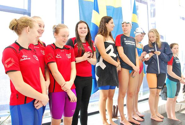 Ystad - på pallen Osby SS (Silver), Helsingborg SS (Guld), Helsingborg SS lag 2(Brons)