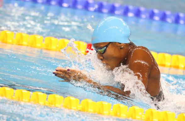 Snabbast i semifinalen - Jamaica Alia Atkinson - 29.09