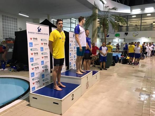 Filip Svedberg silver på 50m fjärilsim