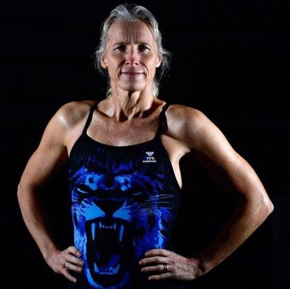 Annette Philipsson Årets bäste Masterssimmare på damsidan 2015.