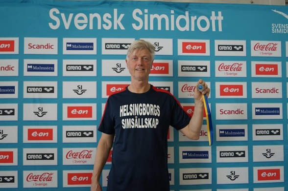 Mats Örth fick med sig minst en medalj - i silver - hem!