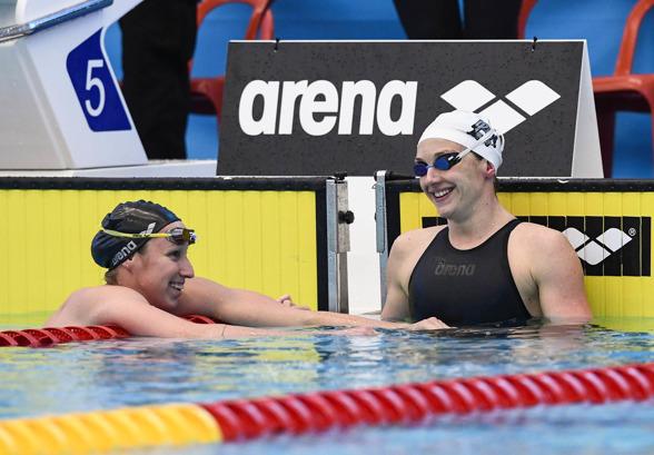 Verraszto och Hosszu - ungersk dubbelseger på 200m medley