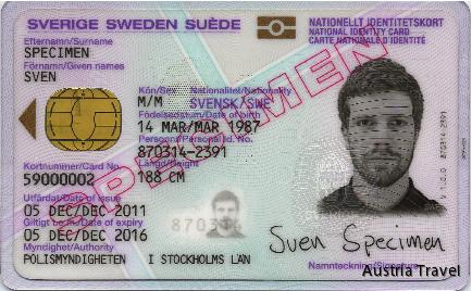 svensk id kort skatteverket