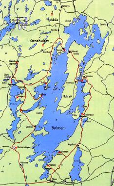 B O L M E N - sagornas sjö