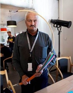Thure Holmström, IT-chef Arjeplogs kommun. Foto: Sofie Abrahamsson