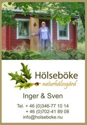 Annorlunda boende med B&B i bekväma vildmarksstugor på Hölseböke Naturhälsogård mitt i Halland mellan Halmstad Falkenberg och Hylterbruk