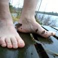 Bada bastu & ta ett dopp i sjön