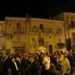 Procession i systerbyn Tocco da Casauria
