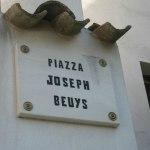 Bolognano, konstnärsby där Joseph Beuys bodde i många år