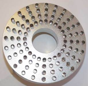 13. LED ring 96 dioder färgskiftande