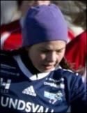 Philippa Johansson gjorde två av SDFF 2:s mål.