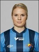 Alexandra Höglund delar ledningen i skytteligan.