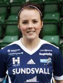 Linda Sjödin fick pris som bäste SDFF-spelare - en lax!