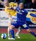 Stefan Ålander gjorde det första av GIF:s tre mål.