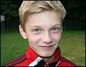 Adam Johansson har gjort fem mål på två matcher i Höstsexan, hattrick idag mot Ljunga.