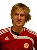 Mikael Edström spräckte nollan med ett kanonskott efter 35 minuters spel.