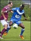 Bamakee Touré blev både häcklad och tvåmålsskytt.