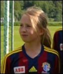 Linn Jonsson avsluta-de målskyttet mot Heffnersklubban med två fina mål.
