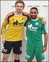 Vad kan Manne Wallström och Ali Mirzad göra åt div. II-laget Hudiksvall i morgondagens cupmatch? Foto: ÖIF:s hemsida.