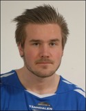 Andreas Smedbakken satte Valbos bägge mål i segermatchen borta mot Falun.