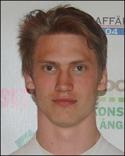 Oskar Nordlund stängde matchen mot Sandvik med sitt 3-1-mål.