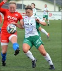 Erin Craig satte två fullträffar när Assi vann borta mot Alvik med 4-2. Då Notas bara kryssade talar nu allt för att det blir Karlsborgslaget som tar hem serien i år också.