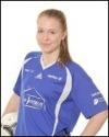 Matfors 16-åriga mittback Sandra Nilsson var planens gigant i segern mot SDFF 2.