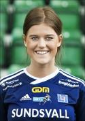 Malin Svelander öppnade SDFF:s målskytte borta mot Umedalen i 4-1-segen.