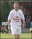 Mattias Thorsell gjorde två av Ånge 2:s mål. Foto: Björn Sjödin.