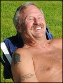 En nöjd sportchef i Ljunga - Roy B Ols-son.