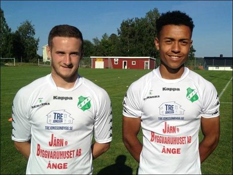 Ånges senaste nytillskott - britterna Jordan Binns och Alex Reid. Foto: