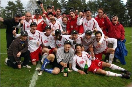 Junsele IF vann trean 2010 och kvalificerade sig för första gången till div. II.