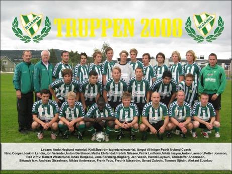 2007 vann Älgarna div. IV Ångermanland. 2008 vann man som nykomlingar div. III Mellersta Norrland. 2009?