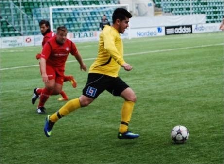 Lokalfotbollen tippar att Claudio Morags Sidsjö-Böle är ett av de två lagen som spelar div. IV-fotboll nästa år. Foto: Janne Pehrsson, Lokalfotbollen.nu.