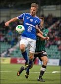 Johan Eklund hoppas på seger och stor-publik. Foto: Anders Thorsell.