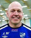 Anders Westlund tränar damcomebackande Kovlands IF.