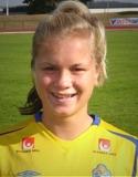 Julia Bhy nickade in kvitteringen men Alnö förlorade till slut ändå seriefinalen mot Ljusdal.