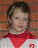 Konrad Ålund Smedlund gjorde två mål och åkte sedan på en rejäl propp och fick uppsöka sjukhus. Bilden här har dock några år på nacken.