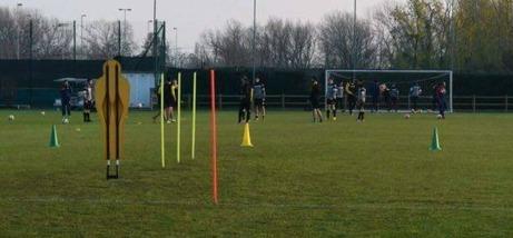 Udine Calcios träningsanläggning.