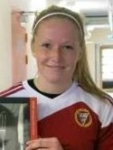 Sanna Lööw-Ohlsson sköt in hela sju mål mot Brynäs när Alnö vann med hela 12-0.