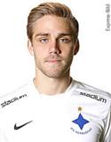 Christoffer Nyman satte årets första allsvenska mål. Det hjälpte dock föga då hans Norrköping föll med 1-3 borta mot Malmö FF.