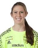 Megan Kufeld - en av tre målvakter i SDFF.
