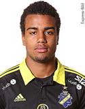 Noah Sonko Sundberg, mittback som lånats in från AIK.