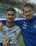 Minhaz Chowdhury och Olle Nordberg sänkte sina gamla lagkompisar i Sidsjö-Böle med fem mål tillsammans.