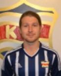 Simon Bergvik, säker straffskytt för Kovland